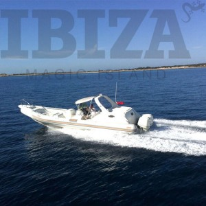 Rent BAT RIB Motorboat in Ibiza